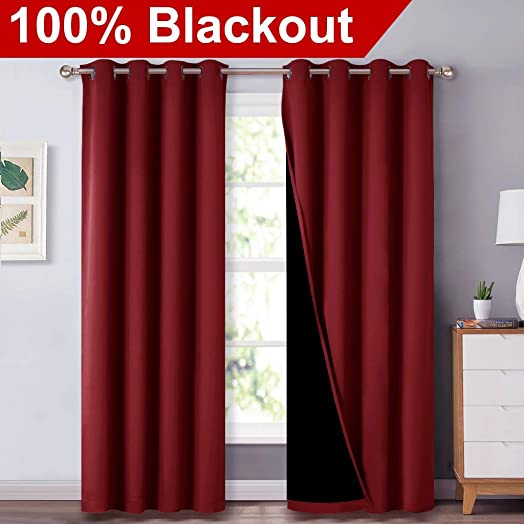 NICETOWN 100 Blackout Curtain