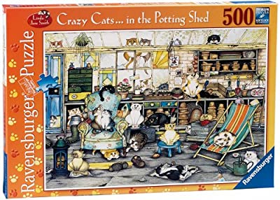 Ravensburger Crazy Cats - in The Potting Shed, 500pc