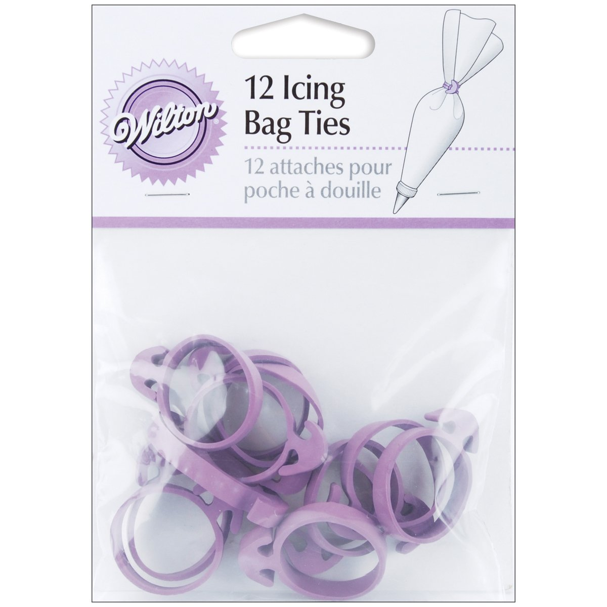 Wilton Icing Bag Ties, 12 count bag