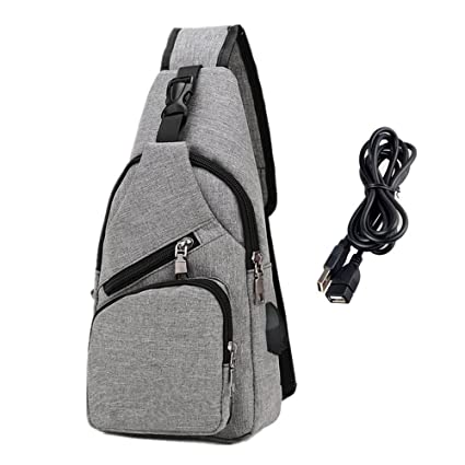 Engagement & Wedding Men Women Chest Bag Pack Travel Sport Shoulder Sling Cross Body Outdoor Casual Messenger Bag