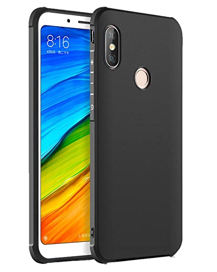 newest 48ed4 2c255 Golden Sand Xiaomi Redmi Note 5 Pro Back Cover Armor Flexible Slim Shock  Proof TPU Case Note5 Pro Mobile Phone 2018 [5.99