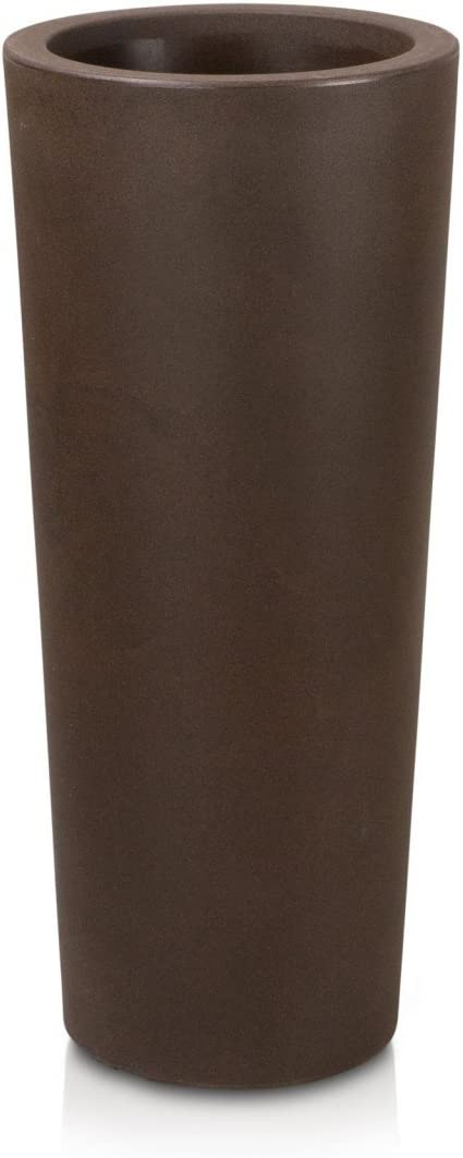 40x40x90 cm bronze matt Pflanzk/übel Blumenk/übel CONO 90 Kunststoff