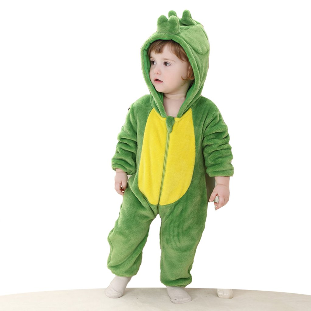 CANDIDO Toddlers' Pajamas Unisex Baby Cosplay Animal Onesie Romper