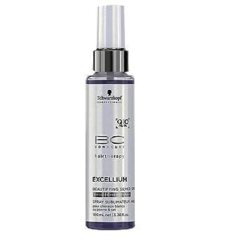 Schwarzkopf Bc Excellium Beautyfing Silver Spray - Cuidado capilar, 100 ml
