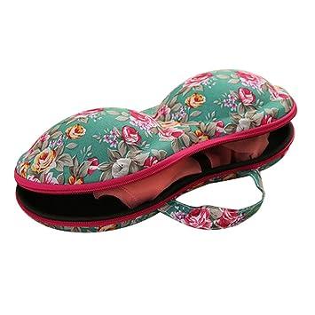 Sujetador equipaje Caso, Impreso multifunción portátil de viaje neceser maquillaje bolsa caso por qisc: Amazon.es: Hogar