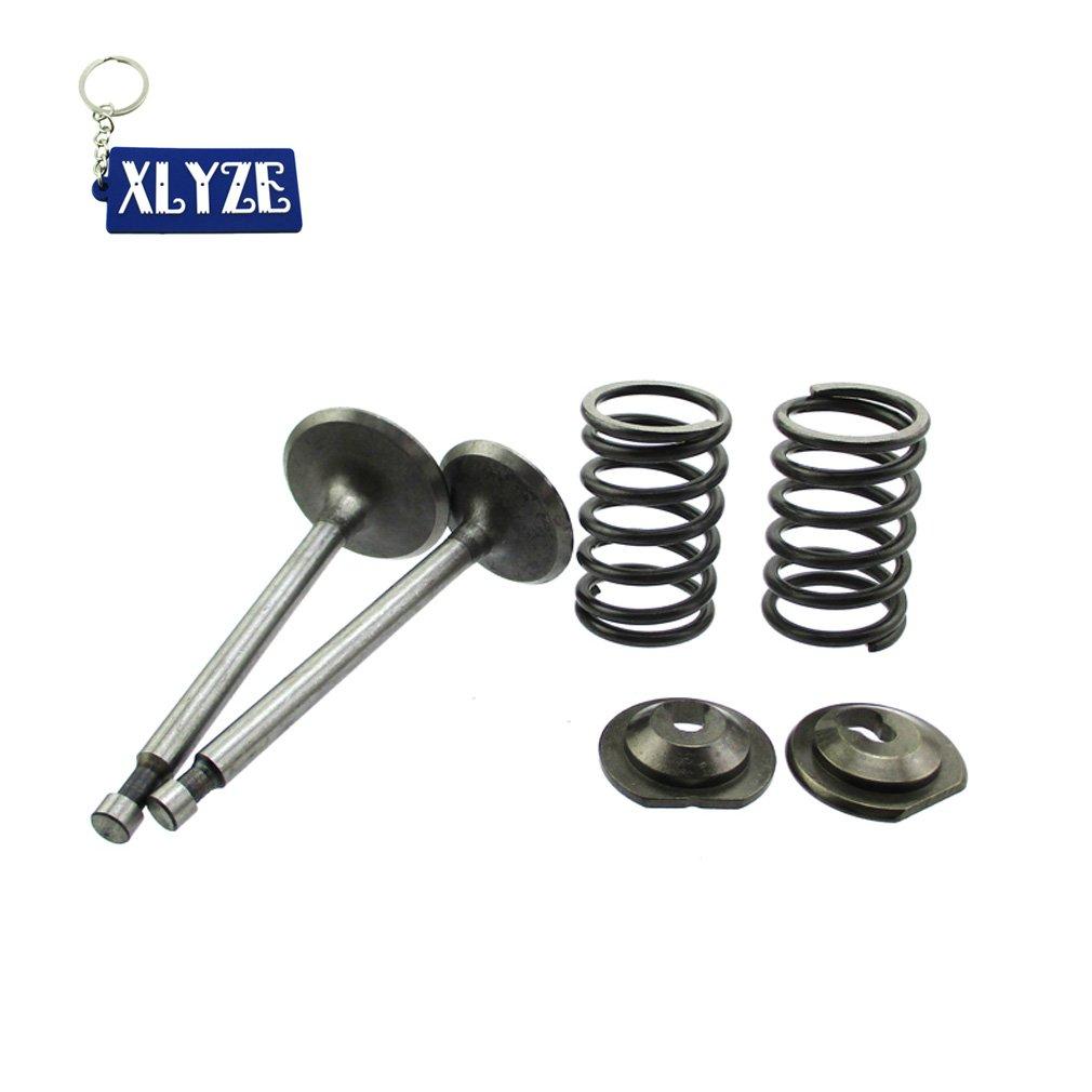 XLYZE Intake Exhaust Valve Spring Retainer Set For Honda 11HP GX340 GX390 13HP Engine