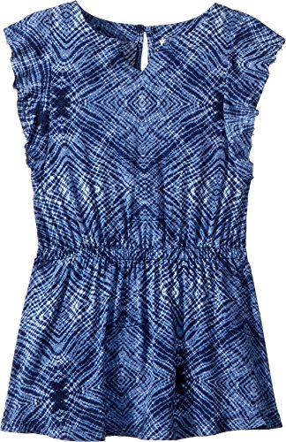 Splendid Toddler Girls' Kids Tank Dress, Navy AOP, 3T