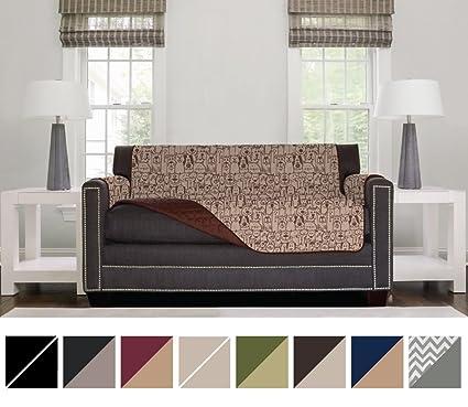 Amazoncom Sofa Shield Original Reversible Couch Slipcover
