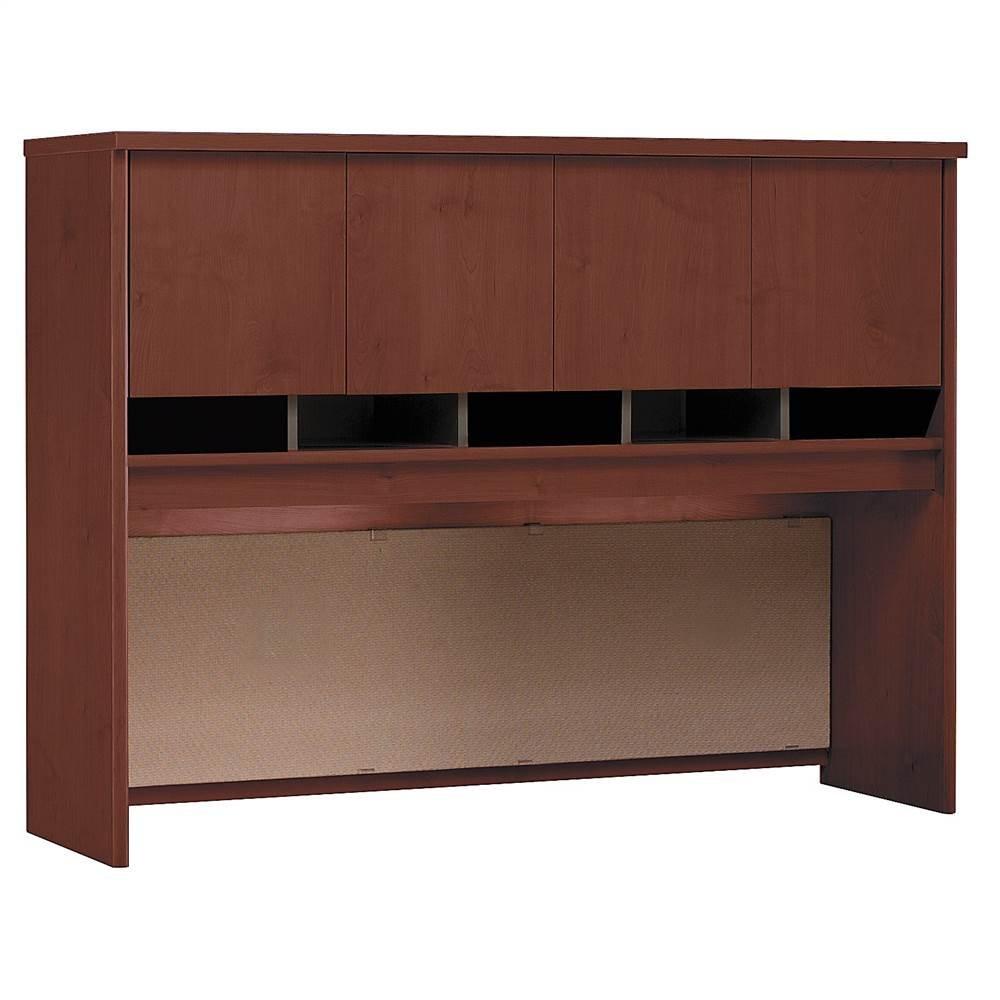 60 in. Storage Hutch w Four Doors in Hansen Cherry - Series C