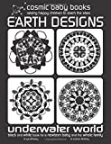 Earth Design: Underwater World: Black and White Book for a Newborn Baby and the Whole Family: Volume 2