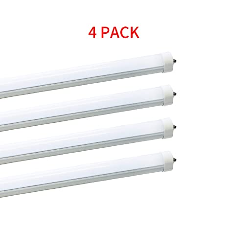 8ft LED Bulbs for T12 LED Fluorescent Fixtures,F96T12 LED Tube Replacement,120V F T Fluorescent Light Wiring Diagram on