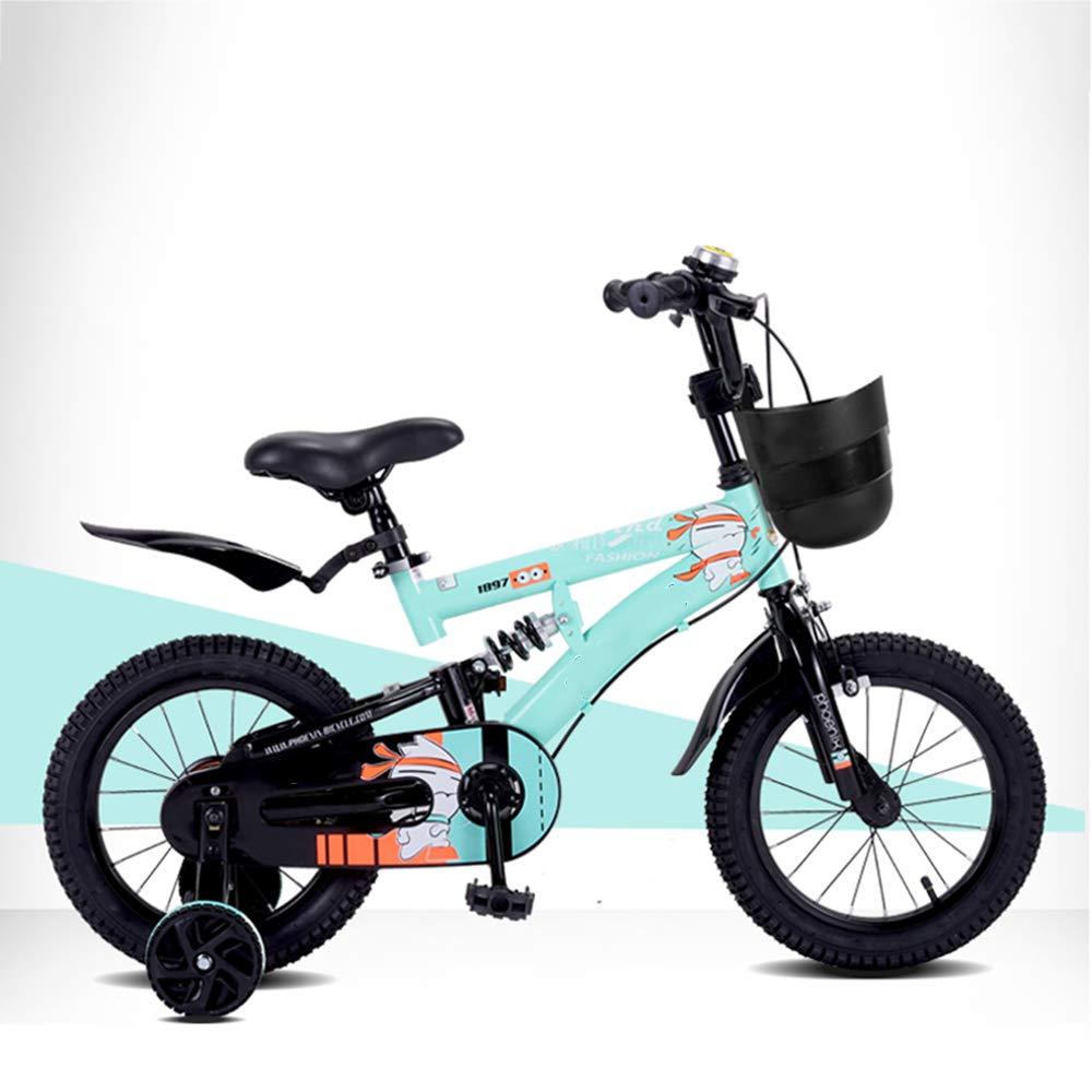 Bicicletas HAIZHEN   Cochecito niños, niños Marco de Acero para niños, niños, niños Ruedas de Entrenamiento 14