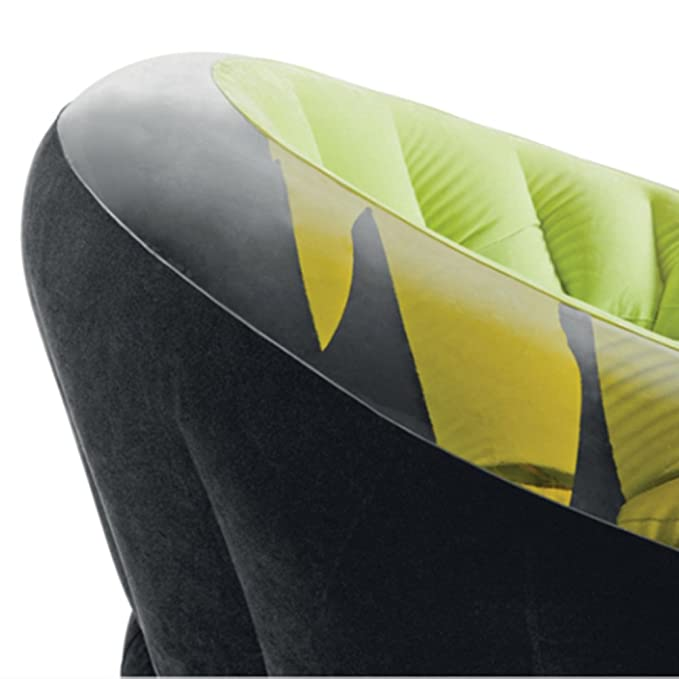 Amazon.com : HUKOER Empire Inflatable Chair-Lazy Flocking ...
