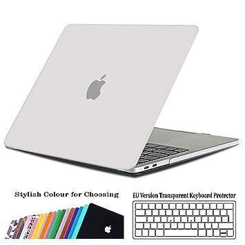 iNeseon Funda para MacBook Pro 15 2018/2017/2016, Delgado Carcasa Case Duro y Cubierta del Teclado para Apple MacBook Pro 15.4 Pulgadas con ...