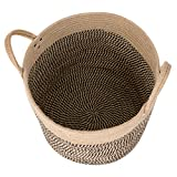 CHICVITA Large Jute Basket Woven Storage Basket