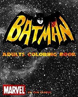 Batman Adults Coloring Book