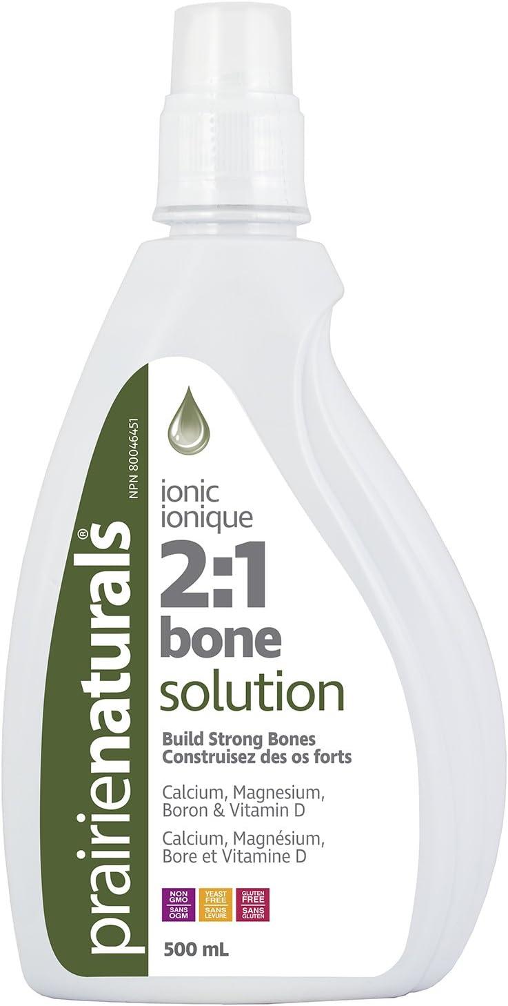 Prairie Naturals 2:1 Liquid Ionic Bone Solution, 16.9 Fluid Ounce
