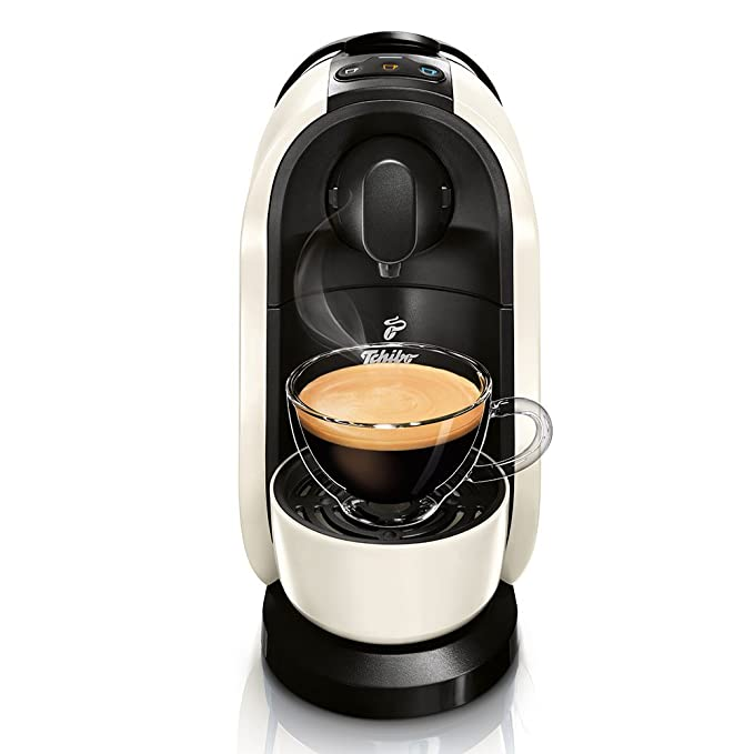 Tchibo Cafissimo Pure Máquina para café de Cápsulas, Café expreso y Café Crema, blanco: Amazon.es: Hogar