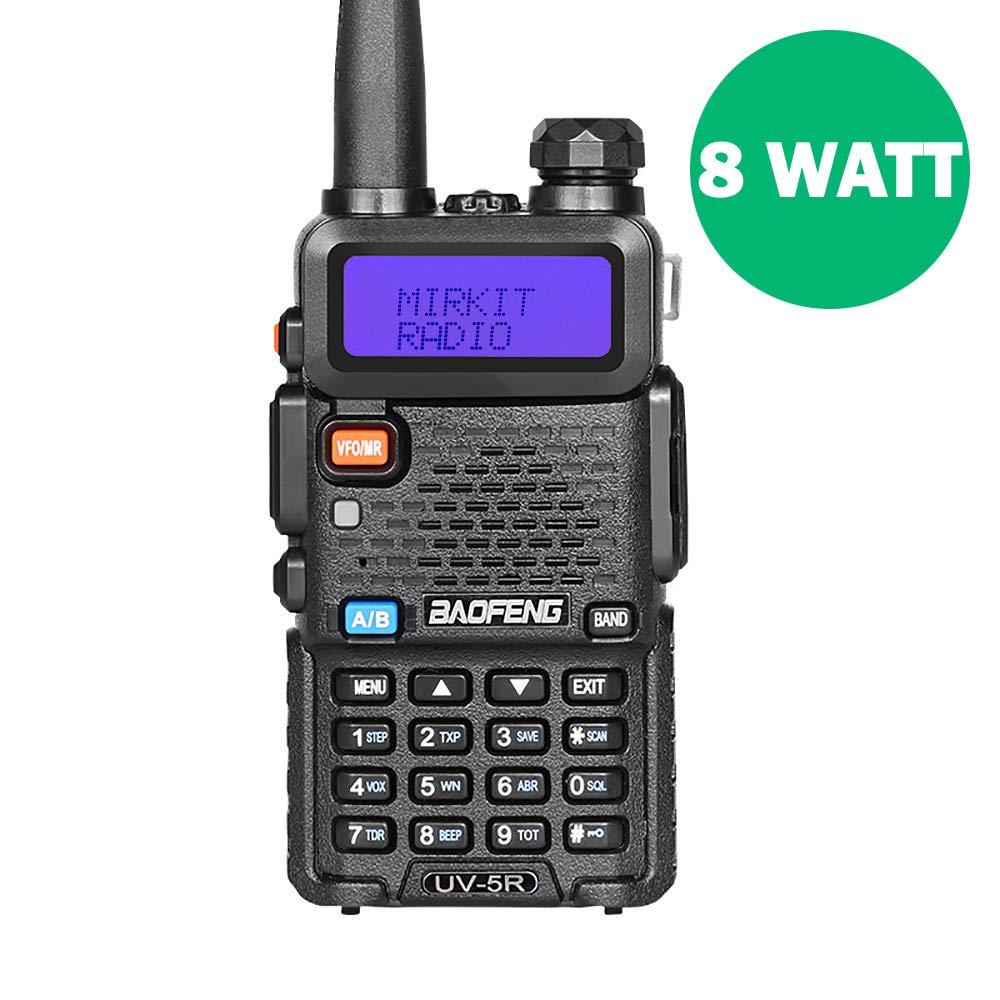 BaoFeng UV-5R MK5 8W High Power 2018 Two Way Amateur (Ham) Radio Walkie Talkie