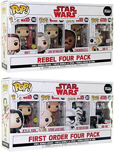 Funko Pop Exclusive Star Wars the Last Jedi Rebels and First Order