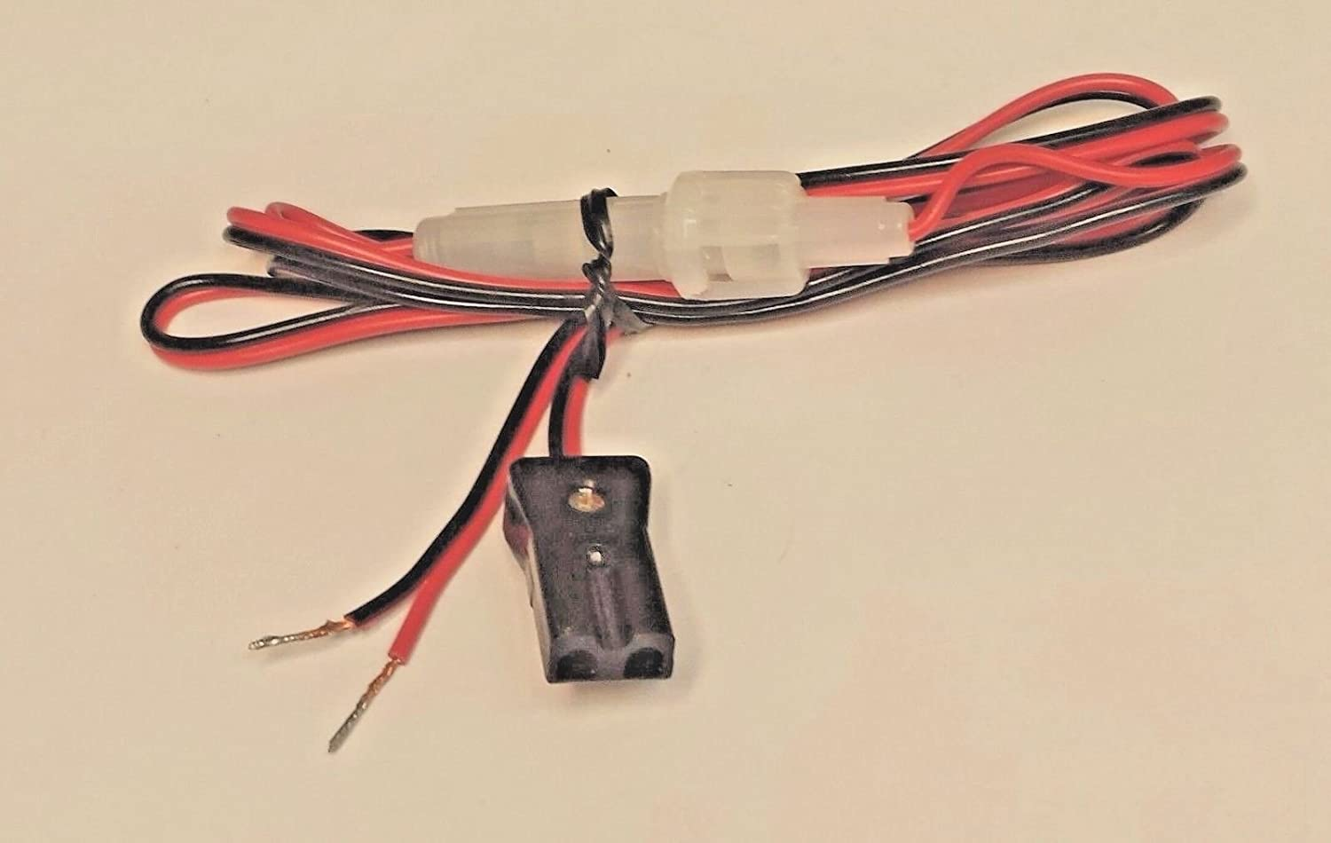 3 pin Power Cord with 2 Amp Fuse for CB Radio.