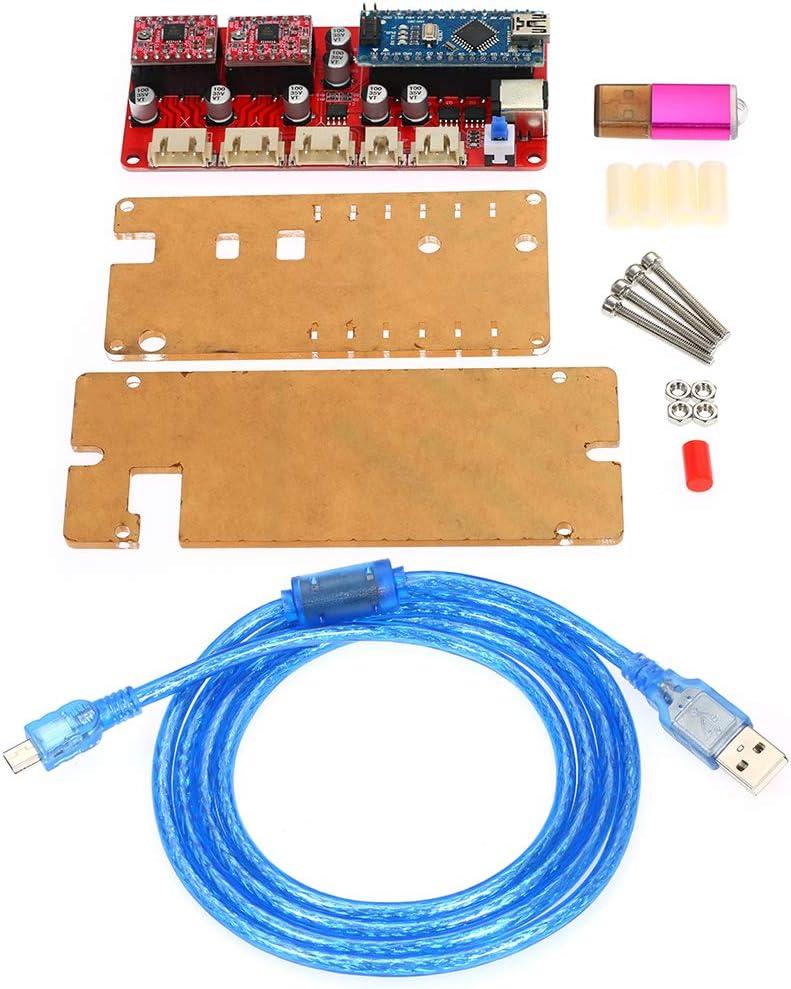 ROEAM Holzbearbeitung Laserengraver Steuerplatine ,Treiber Controller Board f/ür CNC Graviermaschine 12 V DIY