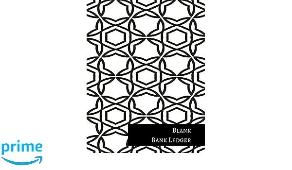 blank bank ledger insignia accounts 9781521255681 amazon com books