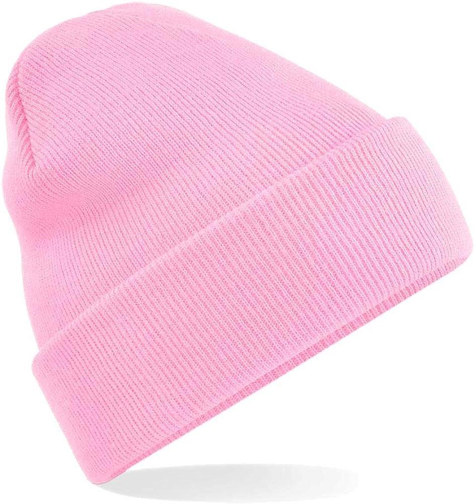 Winter Strickm/ütze Einheitsgr/ö/ße,Classic Pink Beechfield