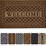Mibao Entrance Door Mat,Winter Durable Large Heavy Duty Front Outdoor Rug, Non-Slip Welcome Doormat for Entry, Patio