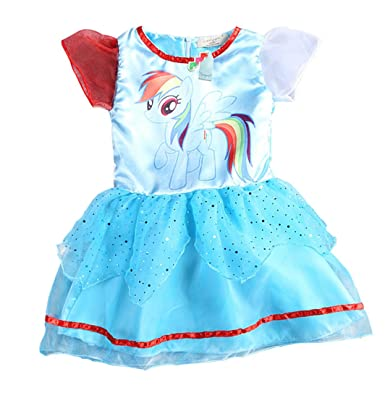 Amazon.com: My Little Pony Girl\'s Dress Lace Tutu Party Dress: Clothing