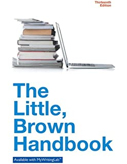 Amazon patterns for college writing with 2016 mla update the little brown handbook 13th edition fandeluxe Image collections