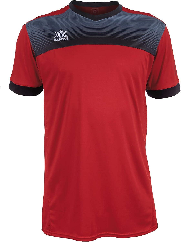 Luanvi Bolton Camiseta Tenis de Manga Corta de Tenis Hombre
