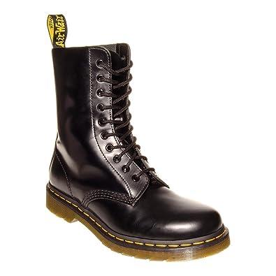 58c8615fd19f72 Size Uk3-Uk12 Dr Martens Docs 1490 Z 10 Œillet Hommes Air Wair Noir Cuir  Bott...: Amazon.fr: Chaussures et Sacs