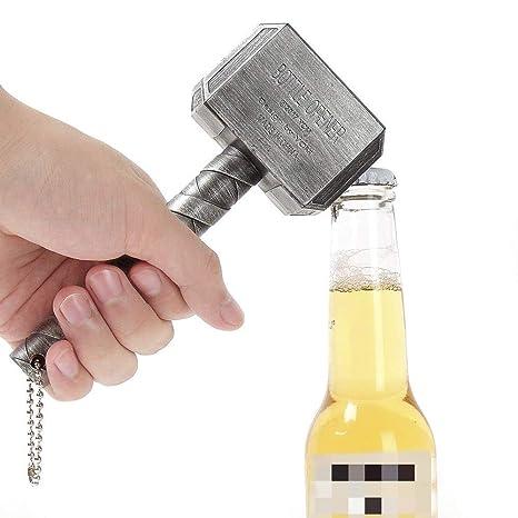 Compra ASEOK Thor Hammer Abrebotellas Abrebotellas Gran Bar ...