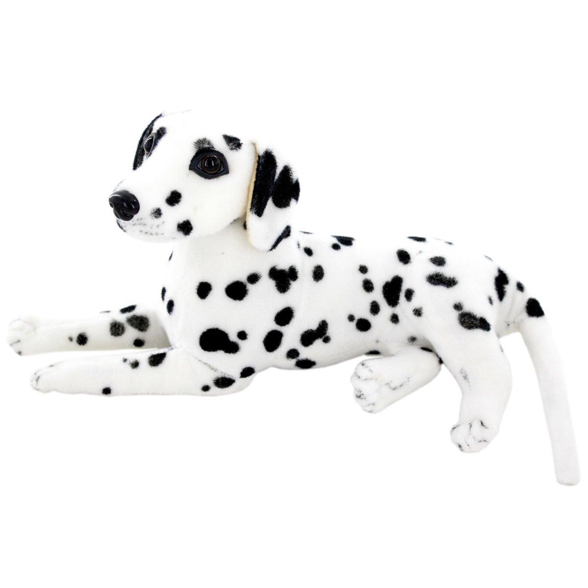 Jesonn Realistic Stuffed Animals Dog Plush Toys Dalmatian,12 or 30CM,1PC by Jesonn