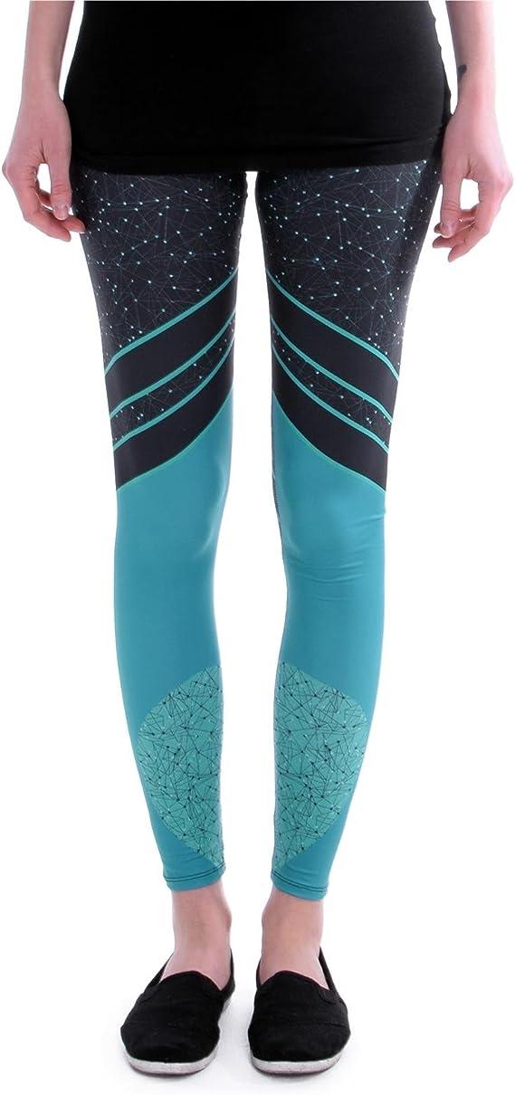 Leggings Colorati Stampati cosey Taglia Unica