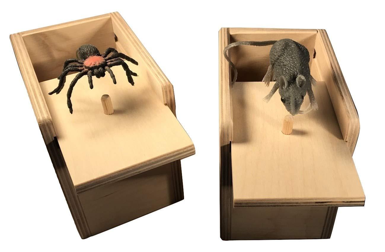 Saving Shepherd Mouse & Spider Surprise Box ~ 2 USA Handmade Fun Prank Gag Gifts by Saving Shepherd (Image #3)