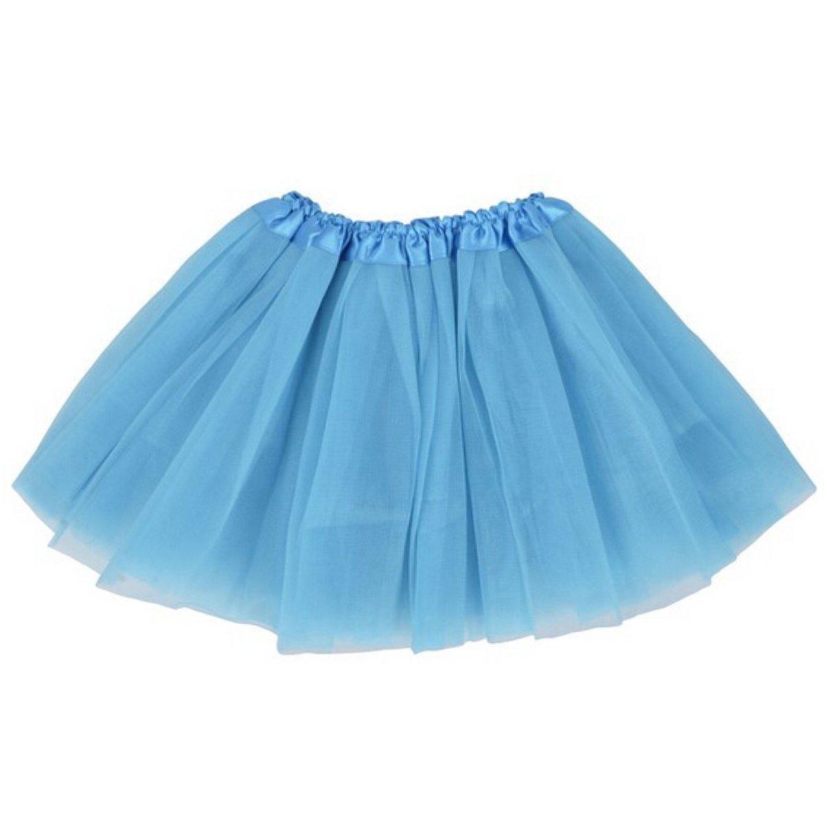 Lanzom Women's Classic Elastic 3-Layered Tulle Tutu Skirt Ballet Party Costume Tutu Skirt0018
