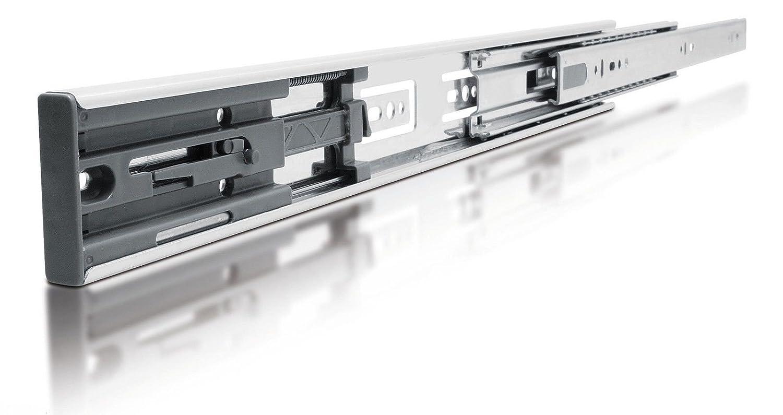 Soft Close Full Extension Drawer Slide Ball bearing Runner Full Extension 500mm 1 Pair