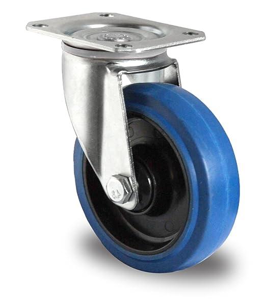 Cases, Racks & Taschen Musikinstrumente Rad Lenkrollen & Bockrollen Blue Wheels Transportrollen Original 6 Set 125 Mm Sl 200 Kg