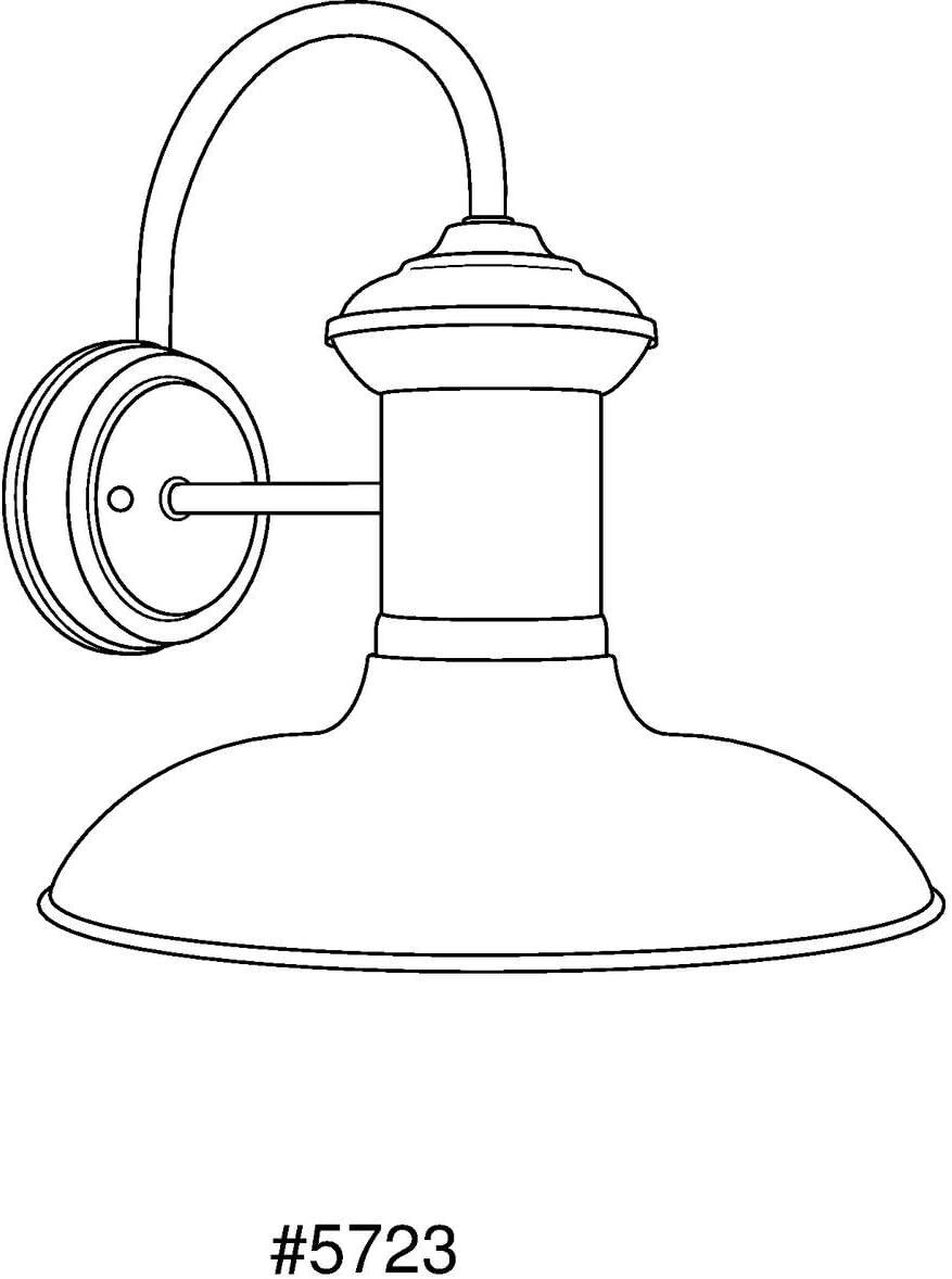 Progress Lighting P5723-1430K9 Brookside LED Outdoor Copper