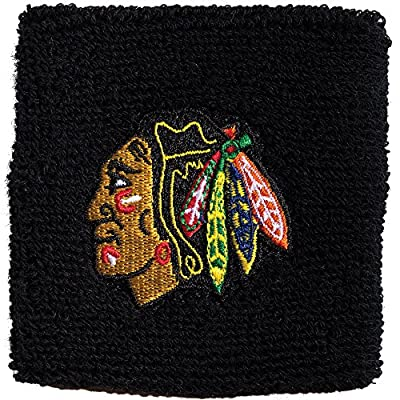 """Franklin Sports NHL 2.5"""" Embroidered Wristbands"""