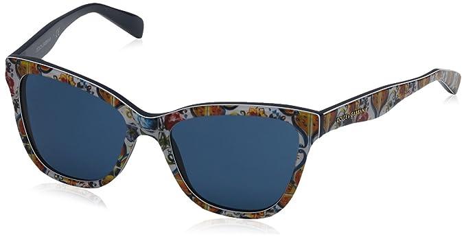 7f385fafd6 Dolce & Gabbana Mod. 4237 Sun Gafas de Sol, Print Majolica ON Bluee ...