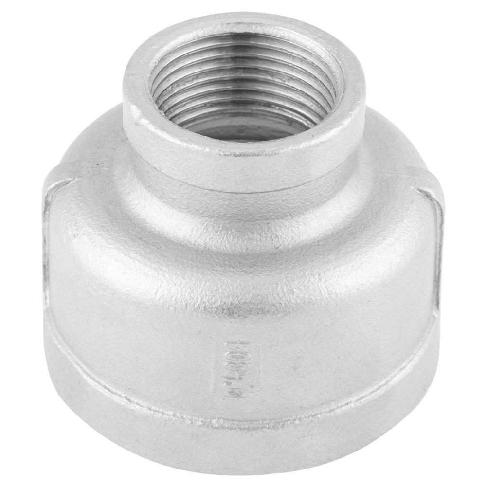 'Adaptateur 3/4\'à 1/2\ adaptateur réducteur matériel Raccord en acier inoxydable 304raccord pour tuyau à Adpater fil DN40à dN 20 Hilitand