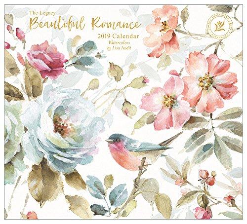 2019 Wall Calendar, Beautiful Romance