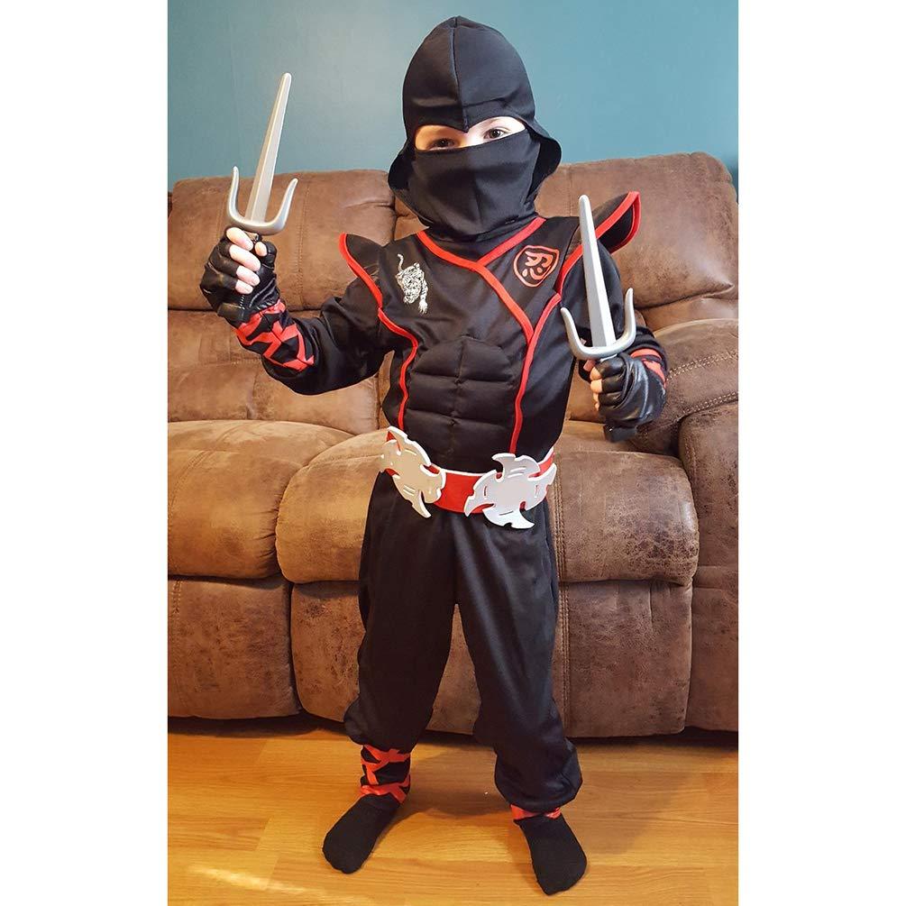 Disfraz Infantil de Ninja Deluxe para Halloween, 0-3 años ...