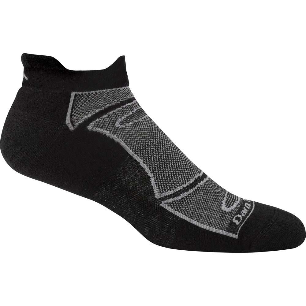 Darn Tough Men's Merino Wool No-Show Light Cushion Athletic Socks Darn Tough Vermont 1722-WHITEGRAY - Parent