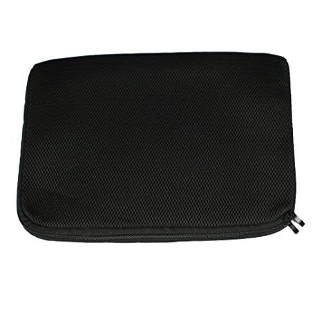 Sonline 15,15.4,15.6 Pulgadas Bolsa Funda Malla Negra de Ordenador Portatil Notebook para