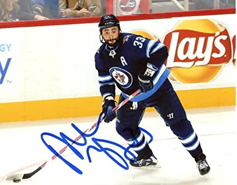 f1b1a1da5da Image Unavailable. Image not available for. Color: Dustin Byfuglien Signed  ...
