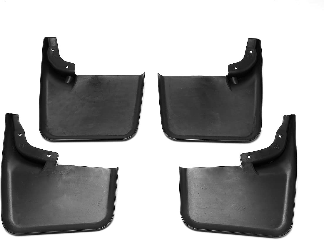 for 04-14 Ford F150 DNA MOTORING WFMK-009 4pcs Wheel Mud Guard Splash Flaps Kit